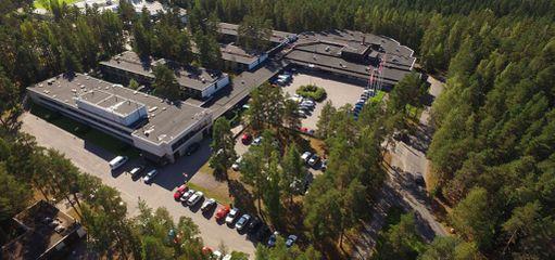 Spahotel Svetsi sijaitsee luonnon keskellä, ja lähistön ulkoilumahdollisuudet ovat mainiot.