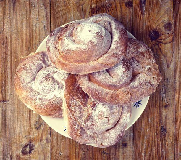 Ensaimada-leivokset ovat tyypillistä tarjottavaa Baleaareilla.