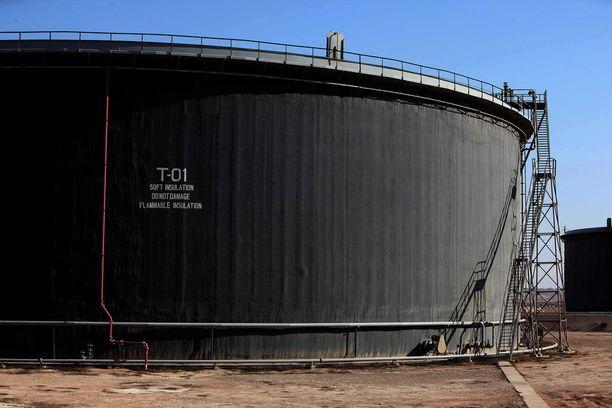 Libyassa öljykentille on hyökätty aiemminkin. Kuvituskuva.