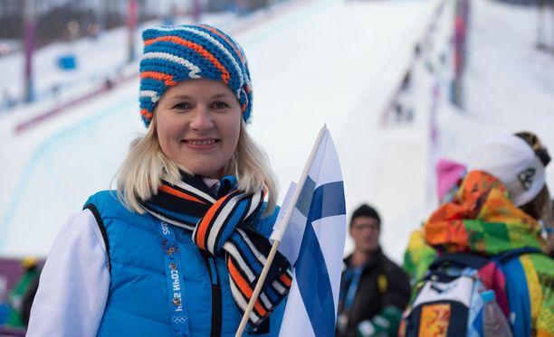 Hannaleena Ronkainen toimii Olympiakomitean urheilupsykologina.