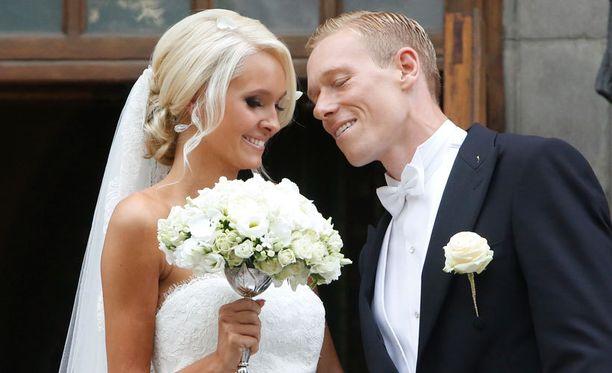 Metti ja Mikael vihittiin Helsingissä elokuussa.