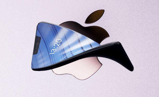 Applen kerrotaan kehittävän taipuvanäyttöistä puhelinta.