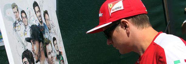 Kimi Räikkönen ei perinteisesti stressaa turhista.