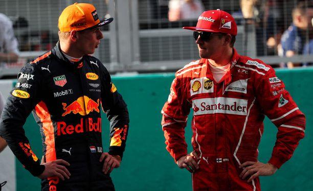 Max Verstappen ohitti Kimi Räikkösen viimeisellä kierroksella sääntöjen vastaisesti.