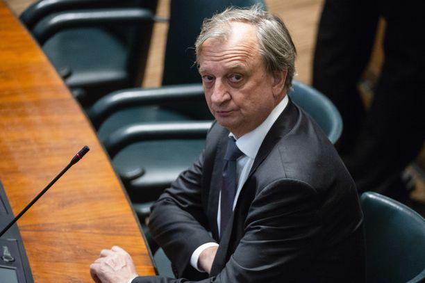 Harry Harkimo on Liike Nytin ainoa kansanedustaja.