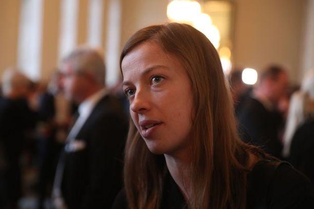 """Vasemmistoliiton puheenjohtaja Li Andersson katsoi, että hallituksella on ollut """"massia"""", mutta se on osoitettu vääriin kohteisiin."""
