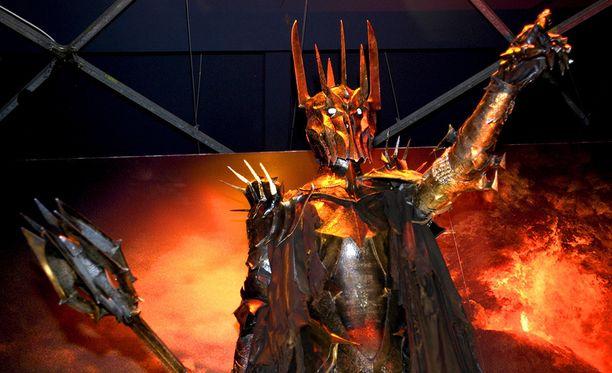 Brittiläisen tiedemuseon näkemys Taru sormusten herrasta -pahis Sauronista.