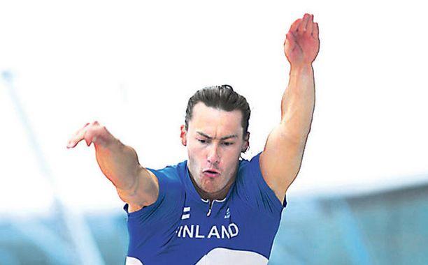 Tommi Evilän vähimmäistavoite MM-kisoissa on Suomen ennätys.