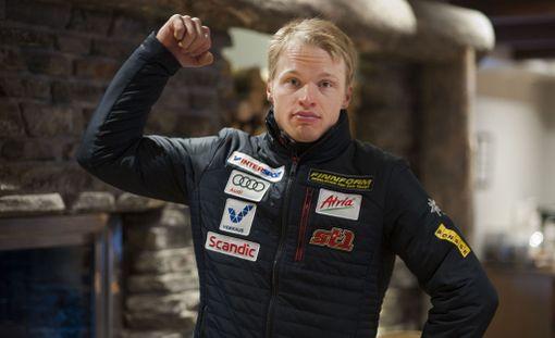 Iivo Niskanen aikoo näyttää hauista Matti Heikkiselle tällä kaudella.