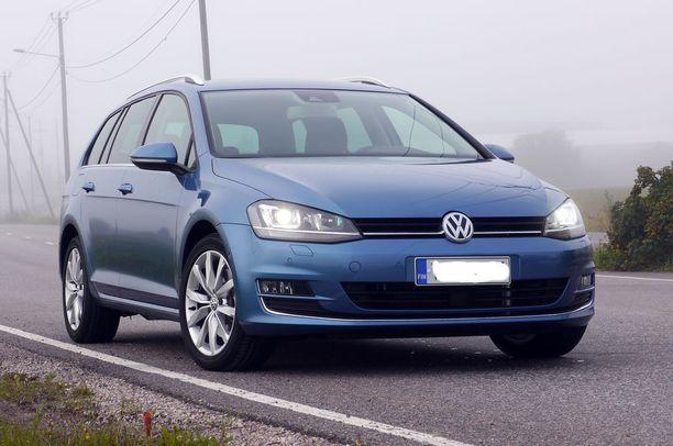 VW Golf on yhä suosituin.