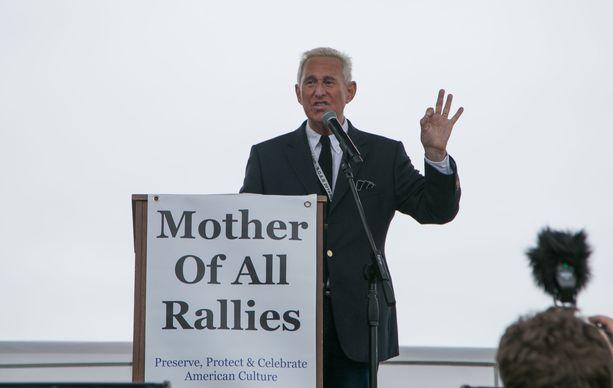Roger Stone puhui tilaisuudessa Washington D.C:ssä syyskuussa.