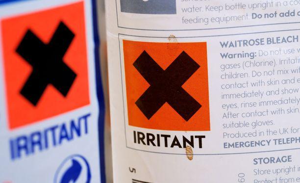 Myrkyllistä valkaisuainetta on Kaliforniassa käytetty lukuisien vaivojen hoitoon. Kuvituskuva.
