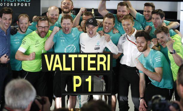 Voitto vahvisti Valtteri Bottaksen uskon omiin kykyihinsä.