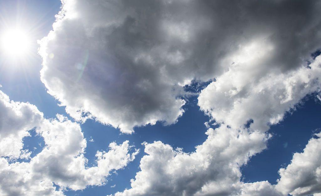 Etelätuuli voimistuu, Lapissa sateita - katso tästä päivän sääennuste