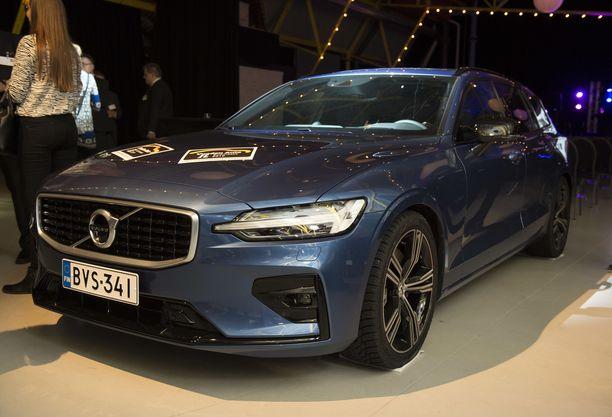 Volvo V60 oli sekä lukijoiden että tuomariston suosikki.