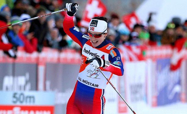 Marit Björgen voitti jälleen.