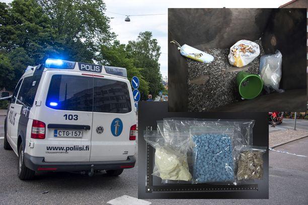 Poliisi paljasti ison huumerikosvyyhdin. Kuva poliisiautosta on kuvituskuva, eikä liity kyseiseen tapaukseen.