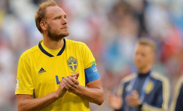 Puolivälieräottelu Englantia vastaan oli todennäköisesti Andreas Granqvistin viimeinen Ruotsin paidassa.