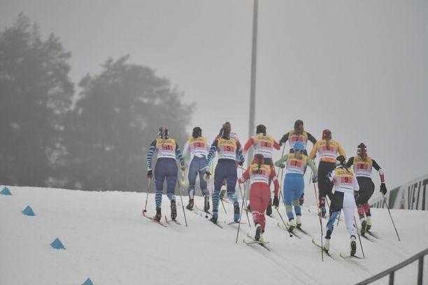 Lahden naisten viestissä on mukana yksitoista eri joukkuetta yhdeksästä maasta.