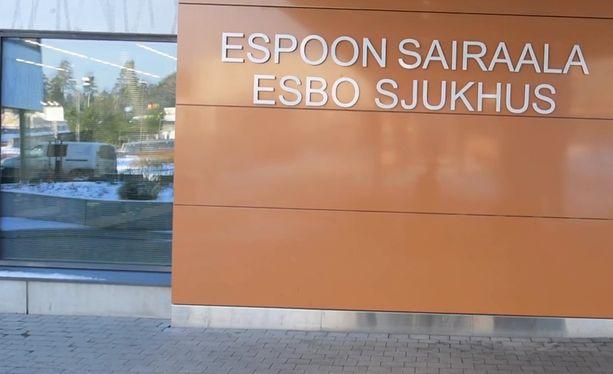 HUS on vuokrannut Espoon sairaalalta tilaa synnytystoimintaa varten. Kuva: ruutukaappaus Espoon sairaalan esittelyvideolta.