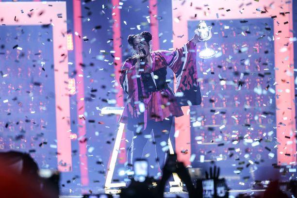 Israel sai järjestettäväkseen Euroviisut, kun Netta voitti Lissabonissa.