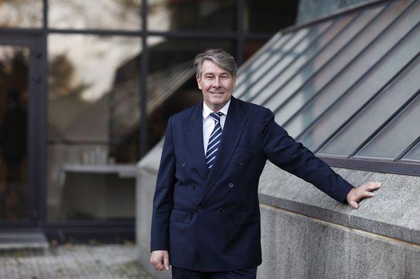 Kemiran uusi toimitusjohtaja Wolfgang Büchele.