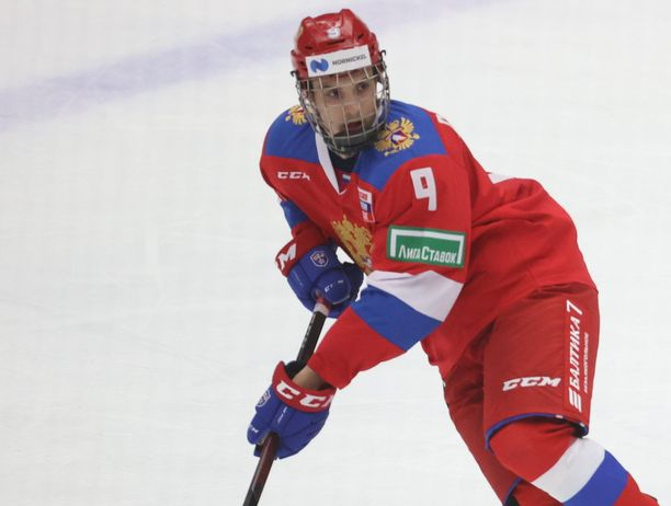 Nikita Chibrikov oli Venäjän sankari MM-kisojen avauspelissä.