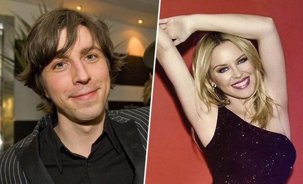 Teemu Brunila kehuu poptähti Kylie Minogueta nöyräksi ja ahkeraksi.