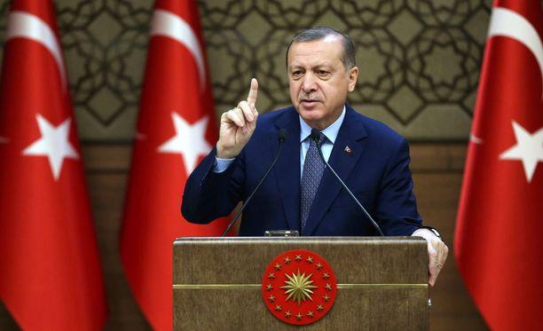 Turkin presidentti Recep Tayyip Erdoganin mielestä lähettilään ampuminen oli provokaatio.