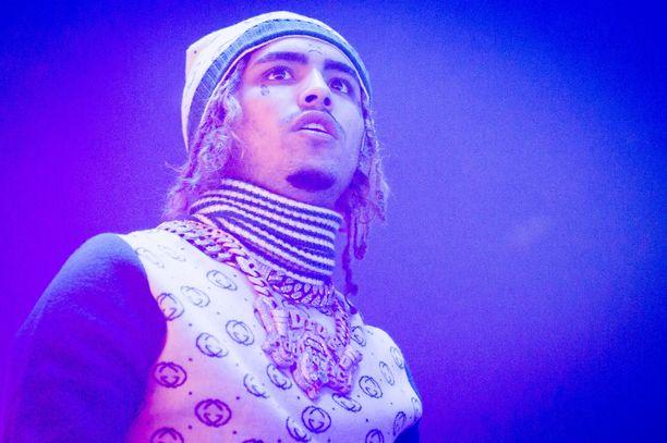 Vasta 18-vuotias Lil Pump tunnetaan esimerkiksi kappaleistaan Gucci Gang ja D Rose.