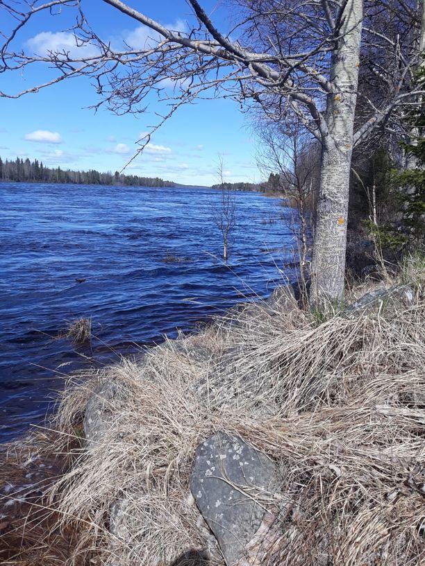 Tornionjoki on toistaiseksi pysynyt uomassaan.