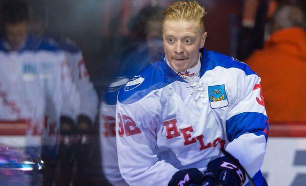 HIFK:n Lennart Petrell loukkaanntui lauantaina.