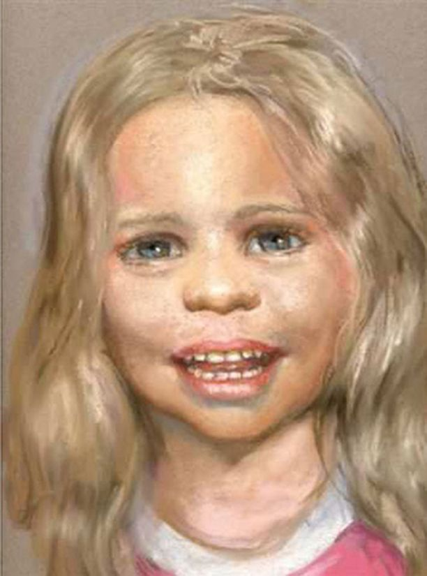 Baby Cracen henkilöllisyyttä selvitettiin poliisin julkaiseman piirroskuvan avulla.
