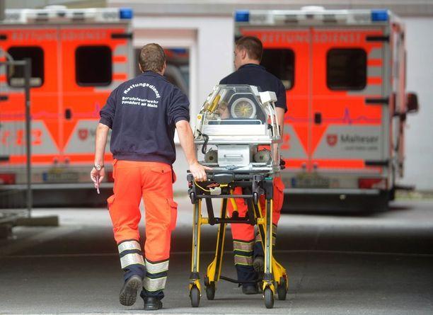 Bürgerhospitalista evakuoitiin muun muassa keskosvauvoja.