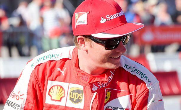 Kimi Räikkönen ei - tietenkään - myöntänyt ongelmia.