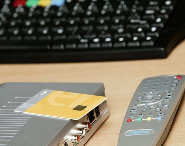 Iptv vaatii seurakseen näppäimistön, sillä käyttäjä voi myös surfata netissä television välityksellä.
