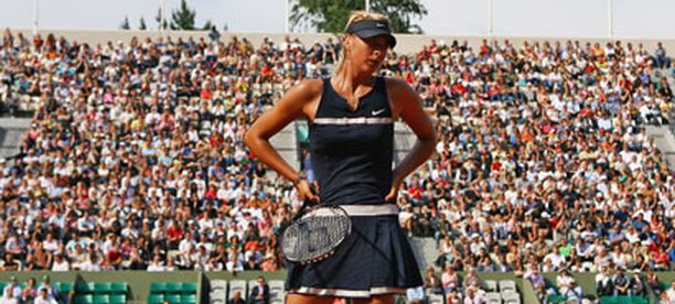 Maria Sharapovan pelit Roland Garrosin 4. kierroksella.