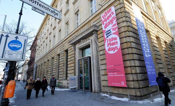 Berliinin Guggenheim-museossa ei ole ollut tarpeeksi kävijöitä.
