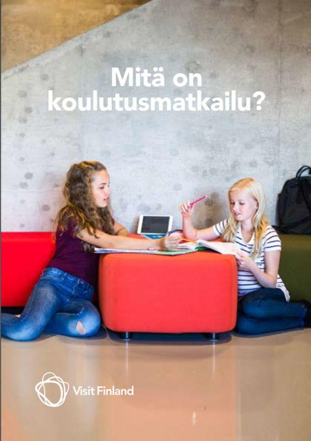Visit Finland on julkaissut Mitä on koulutusmatkailu -opaskirjan sekä suomeksi että englanniksi.