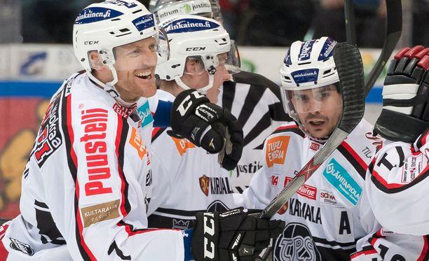 TPS juhli Vaasassa ja päätti Sportin kauden.