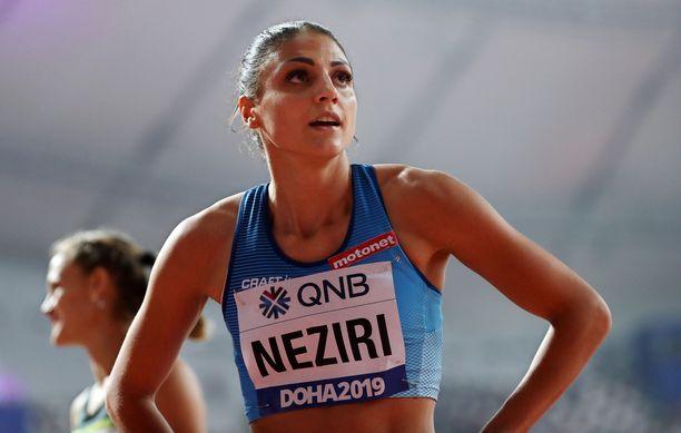 Nooralotta Neziri juoksi Berliinissä alle kahdeksan sekunnin.