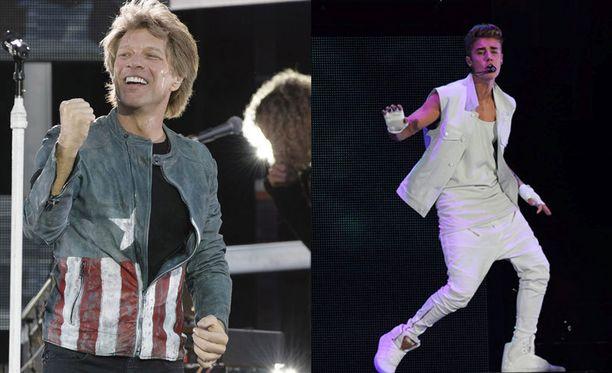 Jon Bon Jovi haluaa opettaa Justin Bieberille fanien kunnioittamista.