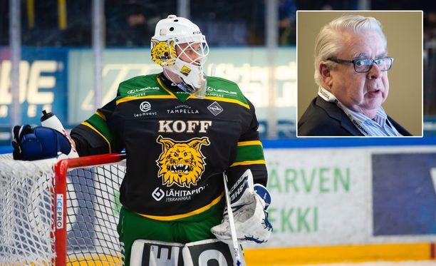 Kalervo Kummola huomautti, että Ilveksessä on ollut hyviä maalivahteja ennen Lukas Dostaliakin.