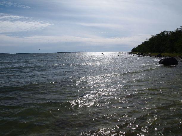 Merimaisemaa Yyterin edustalla.