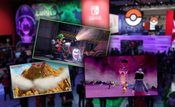 Nintendo esitteli tulevia pelejään E3-messuilla Los Angelesissa.