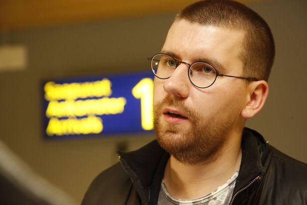 Sebastian Tynkkynen pääsi kirkkaasti läpi eduskuntaan.