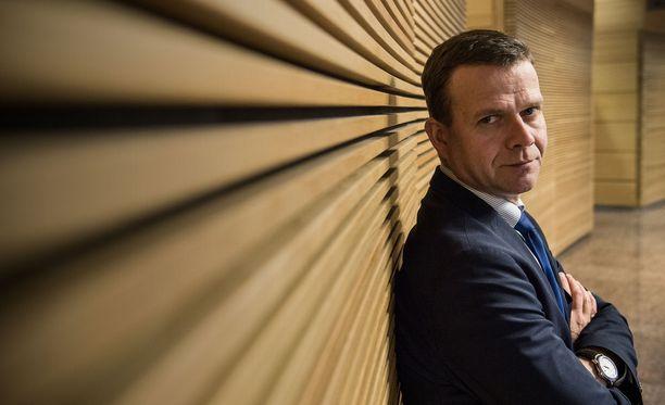 Petteri Orpo aloitti puoluejohtajien kuntavaalipuheet Ylellä.