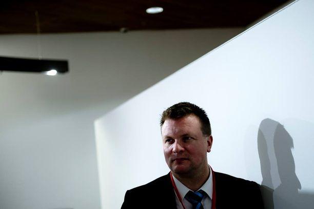 Kansanedustaja Ville Skinnari.