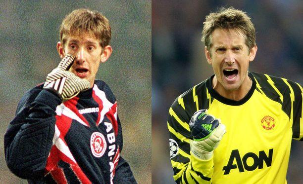 Edwin van der Sar voitti Mestarien liigan sekä Ajaxin (1995) että Unitedin (2008) vahtina.