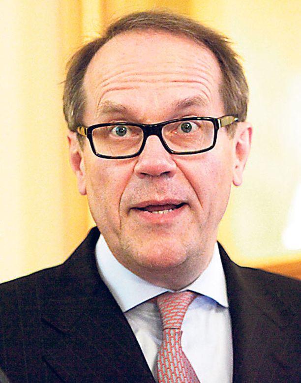 Evan hallituksen puheenjohtaja Jorma Ollila piti expat-seminaarin avajaispuheen.